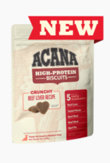 CHAMPION PET FOOD ACANA HIGH PROTEIN BISCUIT CRUNCHY BEEF LIVER LARGE 9OZ