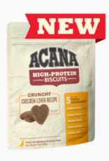 CHAMPION PET FOOD ACANA HIGH PROTEIN BISCUIT CRUNCHY CHICKEN LIVER SMALL 9OZ
