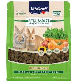 VITAKRAFT SUN SEED, INC. VITAKRAFT VITA SMART NATURAL FORAGE ADULT RABBIT FOOD 4LBS