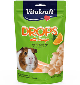 VITAKRAFT SUN SEED, INC. VITAKRAFT GUINEA PIG ORANGE DROPS 5.3OZ