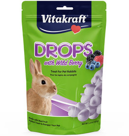 VITAKRAFT SUN SEED, INC. VITAKRAFT RABBIT WILDBERRY DROPS 5.3OZ