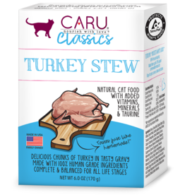CARU CAT TURKEY STEW 6OZ