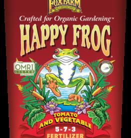 FOXFARM HAPPY FROG TOMATO AND VEGETABLE FERTILIZER 5-7-3 4LBS