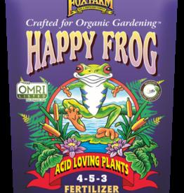 FOXFARM HAPPY FROG ACID LOVING PLANTS FERTILIZER 4-5-3 4LBS