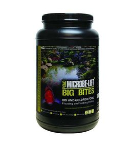 ECOLOGICAL LABS MICROBE LIFT BIG BITES PELLETS 2 LB 12 OZ