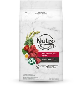 NUTRO PRODUCTS  INC. NUTRO NATURAL CHOICE BEEF & RICE 4LBS