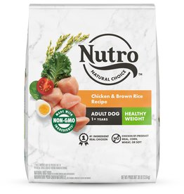 NUTRO PRODUCTS  INC. NUTRO NATURAL CHOICE DOG CHICKEN HEALTHY WEIGHT 30LBS