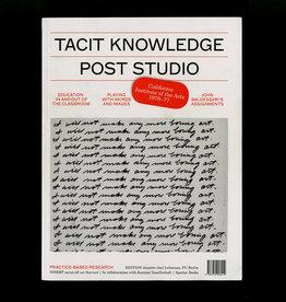 Spector Books Tacit Knowledge Feminism
