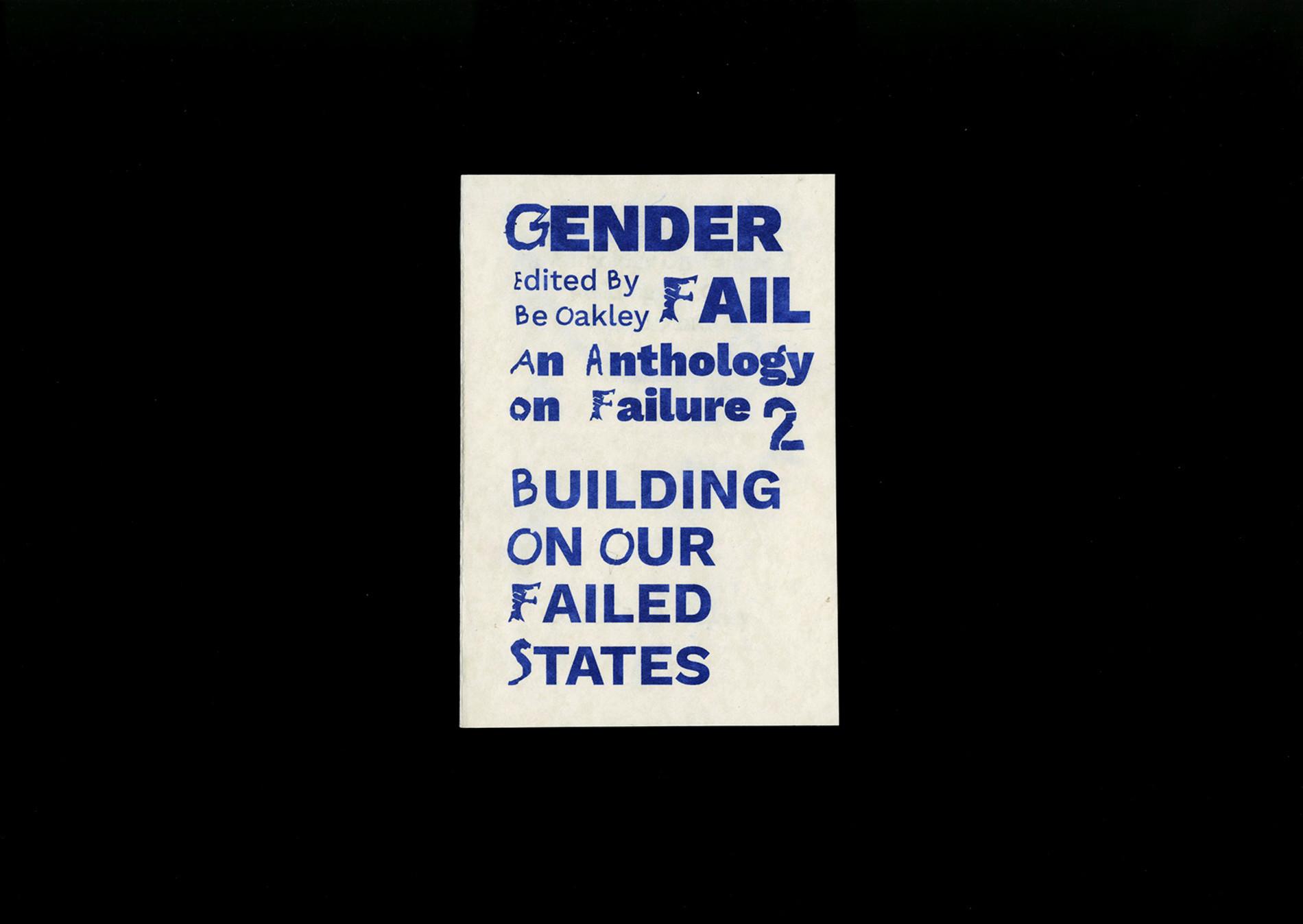 GenderFail Press Genderfail Anthology Failure 2