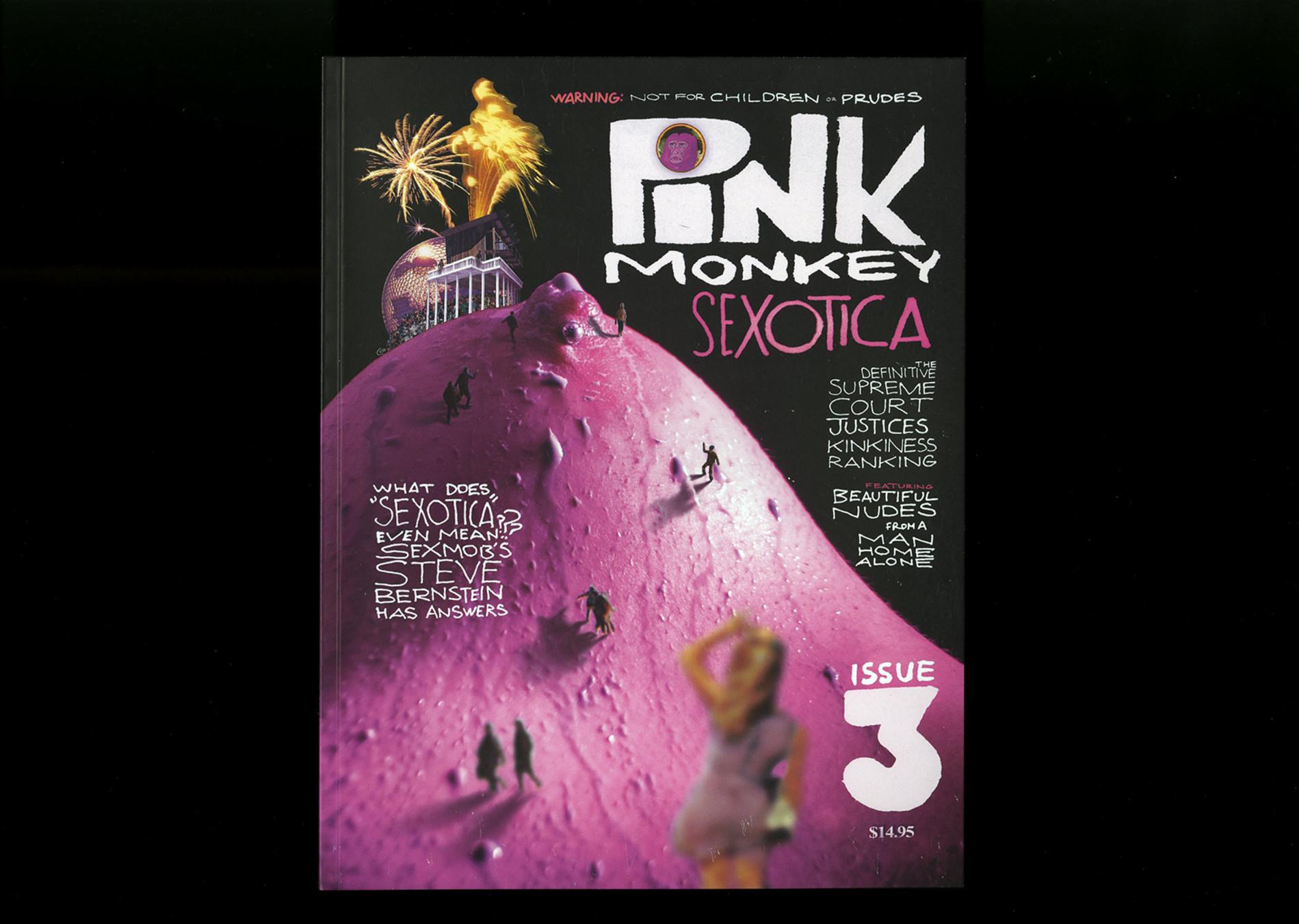 """Pink Monkey Pink Monkey Magazine #3 """"Sexotica"""""""