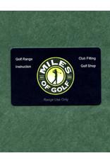 $130 RANGE CARD for $100