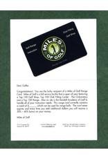 $60 RANGE CARD for $50