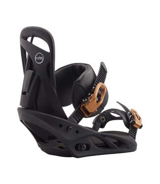 BURTON BURTON WOMENS SCRIBE RE:FLEX SNOWBOARD BINDING BLACK 2020