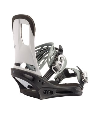 BURTON BURTON CARTEL RE:FLEX SNOWBOARD BINDING BLACK / WHITE 2020