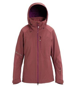 BURTON BURTON WOMENS AK 2L GORE-TEX EMBARK SNOW JACKET ROSE BROWN 2020