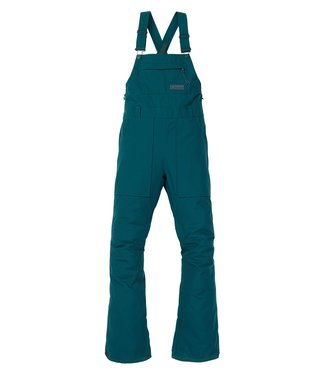 BURTON BURTON WOMENS AVALON BIB SNOW PANT DEEP TEAL 2020