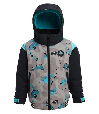 BURTON BURTON INFANT BOYS GAME DAY SNOW JACKET HIDE AND SEEK / TRUE BLACK 2020