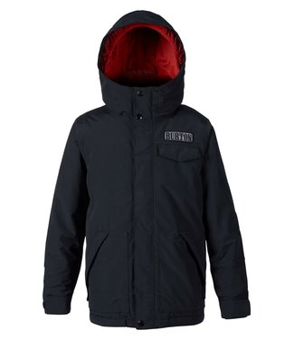 BURTON BURTON BOYS DUGOUT SNOW JACKET TRUE BLACK 2020