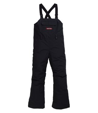 BURTON BURTON BOYS SKYLAR BIB SNOW PANT TRUE BLACK 2020