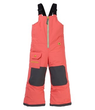 BURTON BURTON BOYS INFANT BOYS MS MAVEN BIB SNOW PANT GEORGIA PEACH 2020