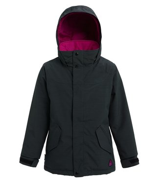 BURTON BURTON GIRLS ELODIE SNOW JACKET TRUE BLACK HEATHER 2020