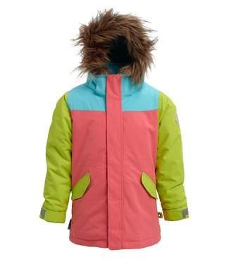 BURTON BURTON INFANT GIRLS AUBREY SNOW JACKET GEORGIA PEACH MULTI 2020