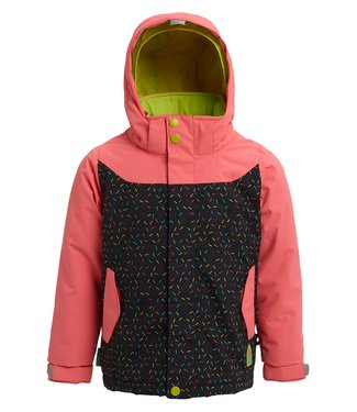 BURTON BURTON INFANT GIRLS ELODIE SNOW JACKET GEORGIA PEACH / SPRINKLES 2020