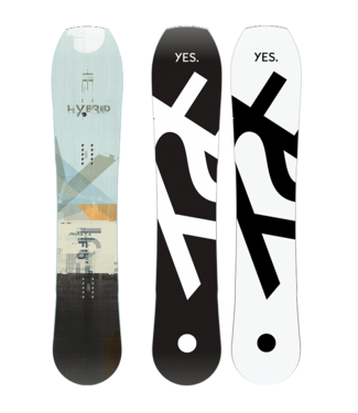 YES YES HYBRID SNOWBOARD 2020
