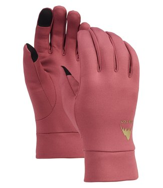 BURTON BURTON MENS SCREEN GRAB GLOVE LINER ROSE BROWN 2020