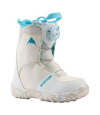 BURTON BURTON KIDS GROM BOA SNOWBOARD BOOT WHITE 2020