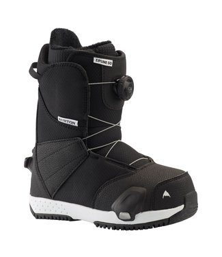 BURTON BURTON KIDS ZIPLINE STEP ON SNOWBOARD BOOT BLACK 2020