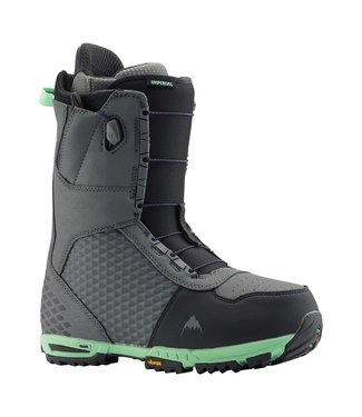 BURTON BURTON MENS IMPERIAL SNOWBOARD BOOT GREY / GREEN 2020