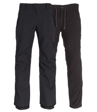 686 686 MENS GORE-TEX SMARTY 3-IN-1 CARGO SNOW PANT BLACK 2020