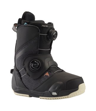 BURTON BURTON WOMENS FELIX STEP ON SNOWBOARD BOOT BLACK 2020