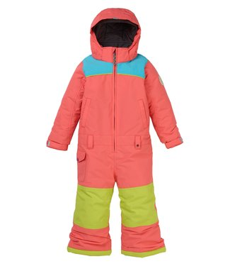 BURTON BURTON TODDLER GIRLS ILLUSION ONE-PIECE SNOW SUIT PEACH MULTI 2020