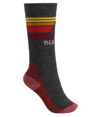 BURTON BURTON BOYS EMBLEM MIDWEIGHT SOCK TRUE BLACK 2020