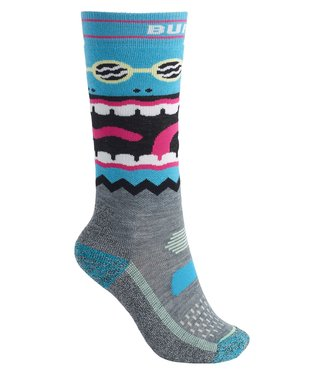 BURTON BURTON BOYS PERFORMANCE MIDWEIGHT SOCK GREY HEATHER 2020