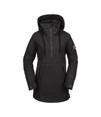 VOLCOM VOLCOM WOMENS FERN INSULATED GORE-TEX PULLOVER SNOW JACKET VBK 2020