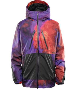 THIRTY-TWO THIRTYTWO MENS MULLAIR SNOW JACKET BLK / PURP 2020