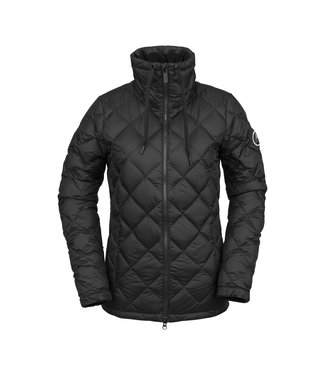 VOLCOM VOLCOM WOMENS SKIES DOWN INSULATOR JACKET BLACK 2020