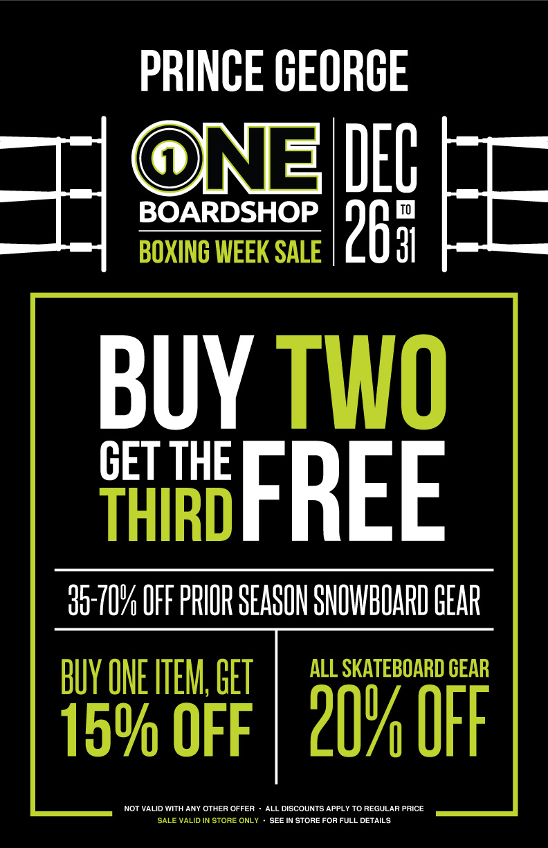 BOXING WEEK SALE - PG - In Store Only