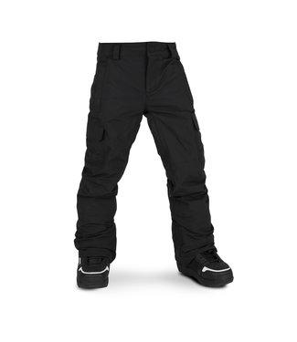 VOLCOM VOLCOM BOYS CARGO GORE-TEX SNOW PANT BLACK 2020
