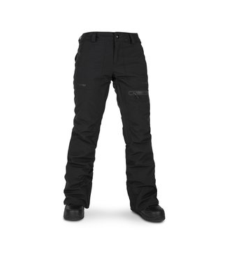 VOLCOM VOLCOM WOMENS KNOX GORE-TEX INSULATED SNOW PANT BLACK 2020