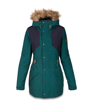 DAKINE DAKINE WOMENS BRENTWOOD SNOW JACKET TEAL / NIGHT 2020