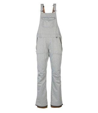 686 686 WOMENS BLACK MAGIC INSULATED BIB SNOW PANT STRIPE 2020