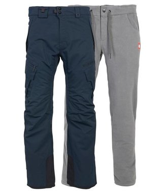 686 686 MENS SMARTY 3-IN-1 CARGO SNOW PANT NAVY 2020
