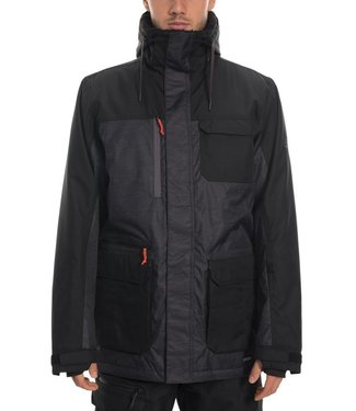 686 686 MENS SIXER INSULATED SNOW JACKET BLACK 2020