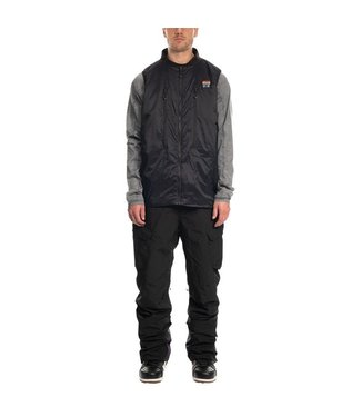 686 686 MENS COAL SMARTY 3-IN-1 VEST BIB SNOW PANT BLACK 2020