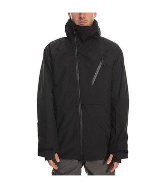 686 686 MENS HYDRA THERMAGRAPH SNOW JACKET BLACK 2020