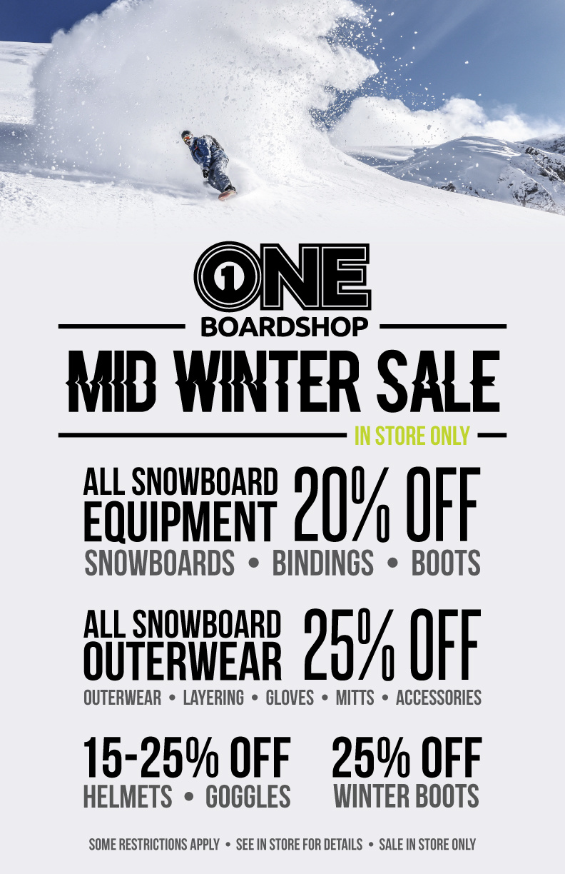 MID WINTER SALE  //  IN STORE ONLY